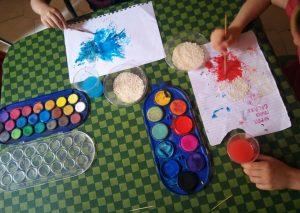 colorazione riso nani e giganti