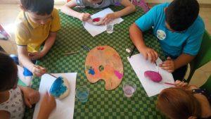 lavori in corso sassi colorati mandala nani e giganti